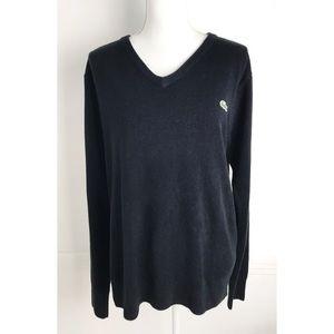 Lacoste • Black V Neck Sweater